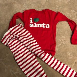 Carter's holiday PJ's